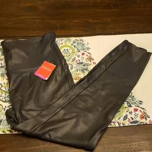 Spanx Faux Learher Leggings